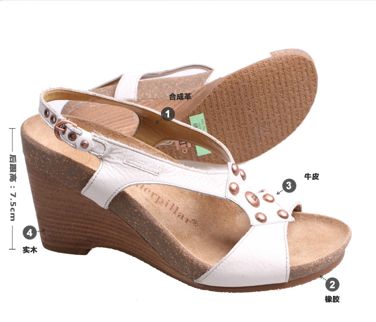 cat 卡特彼勒 凉鞋 女鞋
